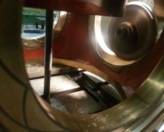 Propellhus, maskinert av Vamec