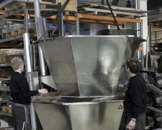 Badestamp produksjon