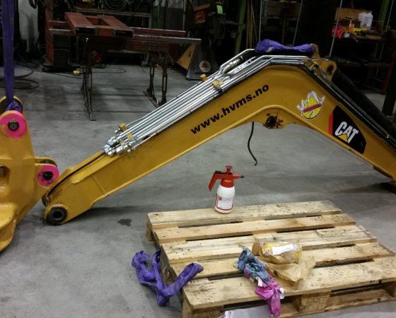 Renovering mindre maskiner